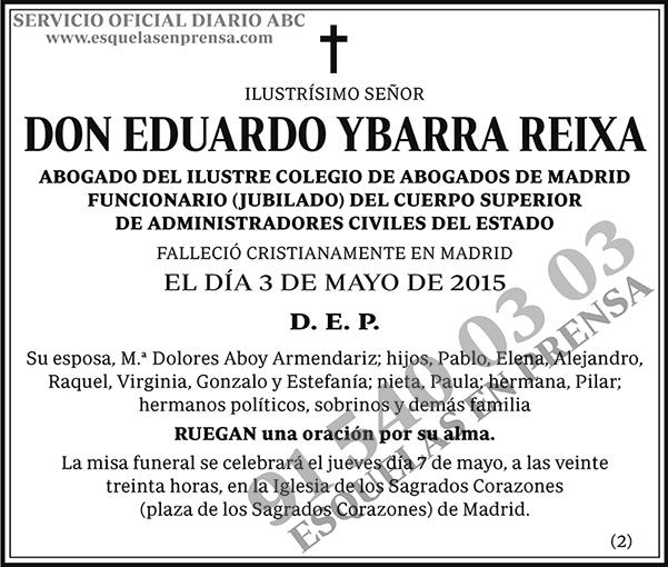 Eduardo Ybarra Reixa